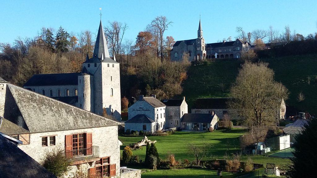 Celles Romanesque church Houyet