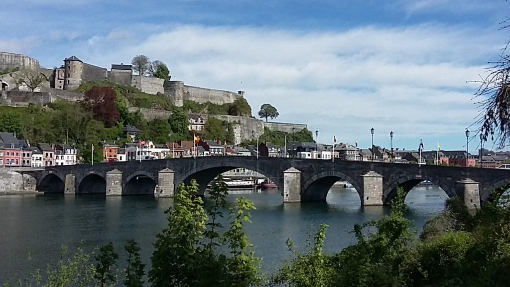 Namur Meuse river
