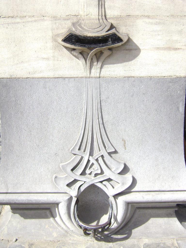 Art Nouveau mail box