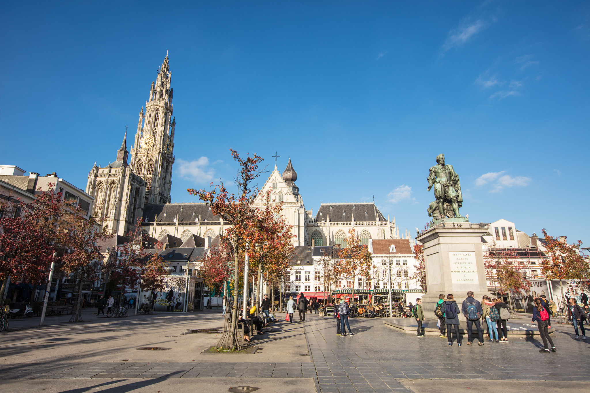 Antwerp cathedral and Rubens